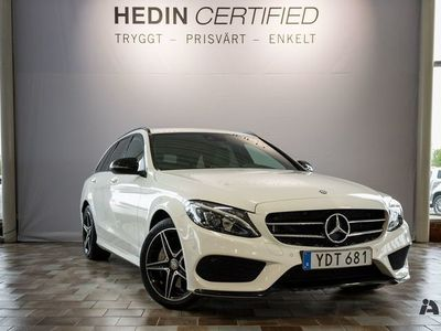 used Mercedes C250 d 4MATIC // AMG & Dragkrok //