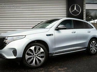 begagnad Mercedes EQC Benz 400 4MATIC Edition 1886 Värmare Drag Navi 2020, SUV Pris 719 000 kr