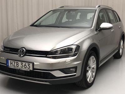 begagnad VW Golf Alltrack 2.0 TDI Sportscombi 4Motion (184hk)
