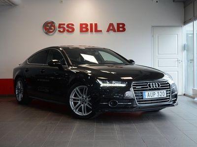 begagnad Audi A7 Sportback 3.0TDI V6 VÄRM,DRAG,S-LINE,Eu6,272HK