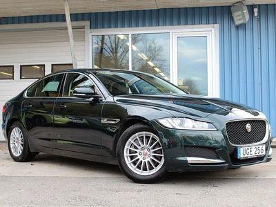 begagnad Jaguar XF 2.0d Prestige GPS Värmare Nyservad