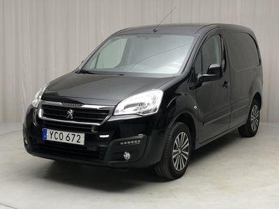 begagnad Peugeot Partner 1.6 BlueHDI Skåp 2016, Transportbil 80 500 kr