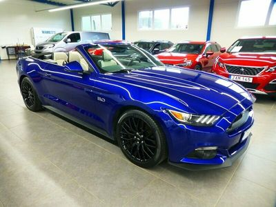 begagnad Ford Mustang GT GT Convertible 5.0 V8 Euro 6 421hk