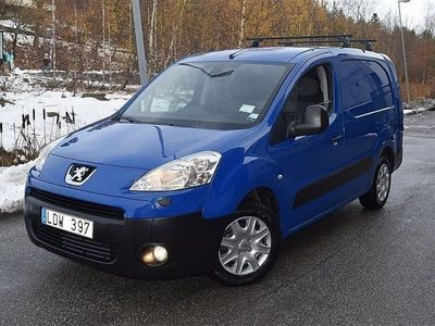 begagnad Peugeot Partner 1.6 HDI 90HK Lång 10200 Mil -11