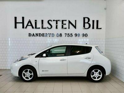 begagnad Nissan Leaf 30 kWh 109hk Navi Moms Backkamera Svensksåld