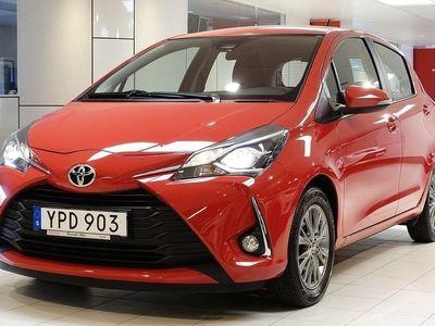 begagnad Toyota Yaris 1,5 AUT 5-D ACTIVE V-HJUL BACKKAMERA TKG