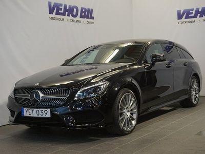 gebraucht Mercedes CLS350 4MATIC AMG Aut Värmare Taklucka Navi Drag Apple Carplay Dis