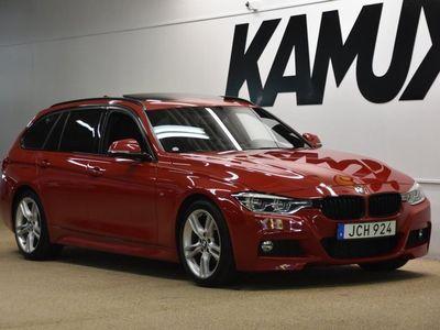 begagnad BMW 320 d | M sport | H/K | Drag | Taklucka | 190hk