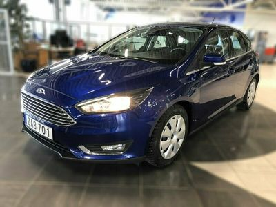 begagnad Ford Focus 1.0 EcoBoost 100hk Farthållare SoV-hjul