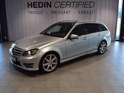 begagnad Mercedes C220 - BenzCDI BlueEfficiency / / Dragkrok / / AMG - line