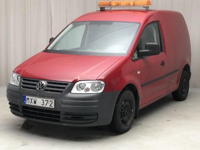 begagnad VW Caddy 2.0 Ecofuel Skåp