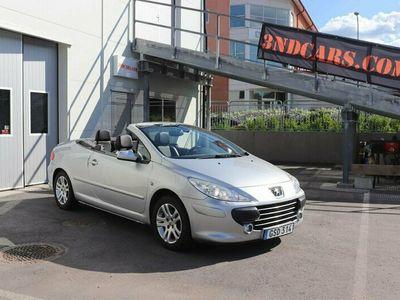 begagnad Peugeot 307 CC 2.0 HDi 136hk CAB SKINN NYSERVAD