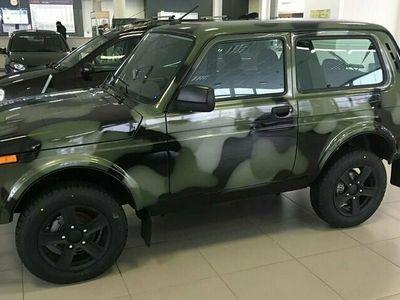begagnad Lada niva 4x4 Legend Camouflage 1.7 VAZ 21214 61kW MOMSBIL