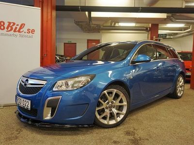 begagnad Opel Insignia OPC Sports Tourer 2.8 V6 Turbo 4x4 Automat 325hk