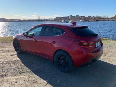 begagnad Mazda 3 2.0 165 hk, opt
