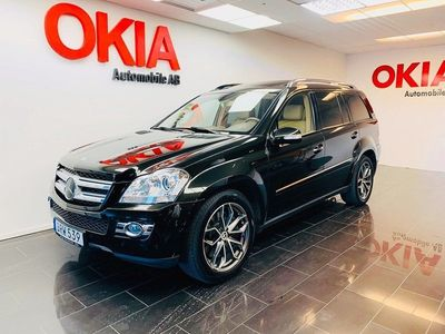 begagnad Mercedes GL420 CDI 4MATIC 7G-Tronic Exclusive Leather 7-sits 306hk