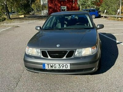 begagnad Saab 9-5 lågmil få ägare