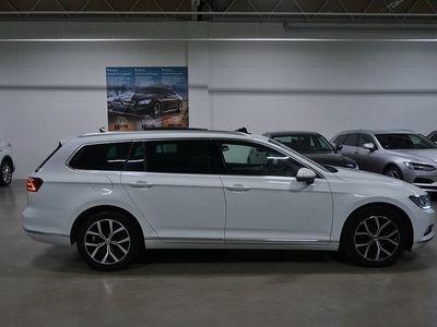 begagnad VW Passat Variant TDI Executive Panorama D-värmare Drag 190hk