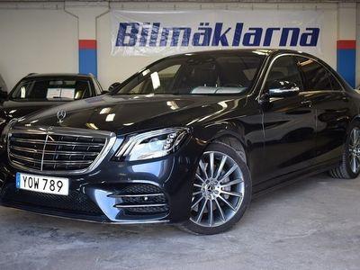 begagnad Mercedes S400 d 4MATIC L AMG VÄRAMRE 34