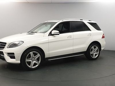 brugt Mercedes 350 M-KLASSCDI BlueTEC AMG H&K Drag Navi