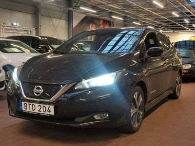 begagnad Nissan Leaf 40 kWh Single Speed Tekna, 149hk