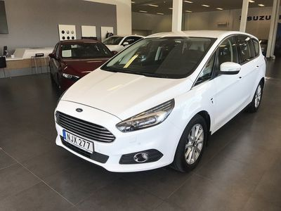 brugt Ford S-MAX 2.0 TDCi AWD Powershift Euro 6 7-sits 180hk