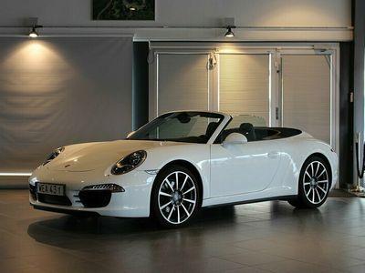 begagnad Porsche 911 Carrera 4 Cabriolet PDK Sportavgas
