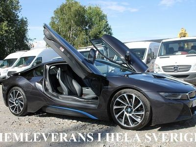 begagnad BMW i8 1.5 + 7.1 kWh AUT Xdrive Euro 6 362hk