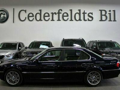 begagnad BMW 740L i Svensksåld Facelift 13774 mi Unik