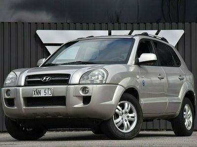 begagnad Hyundai Tucson 2.7 V6 4WD Skinn Automat SV-Såld 2006, Kombi Pris 54 700 kr