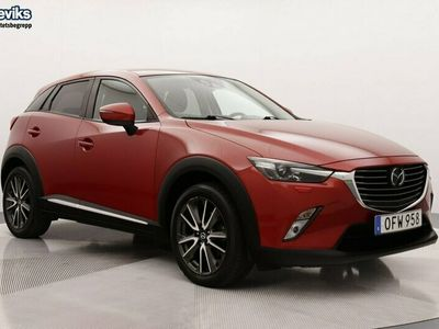 begagnad Mazda CX-3 2.0 120hk Optimum Aut Drag Backkamera