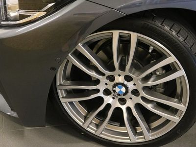 begagnad BMW 420 i Convertible M sport Nav Backkamera -20