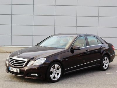 brugt Mercedes E250 CDI AMG BlueEFFI 204HK Ny -09