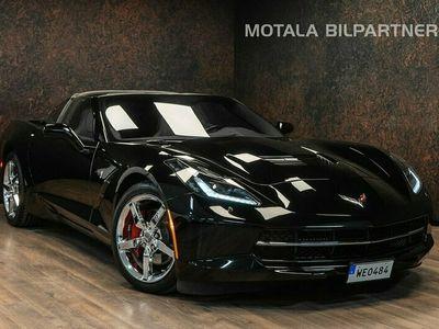 begagnad Chevrolet Corvette Stingray CorvetteAutomat 461hk | BOSE | Targa Top