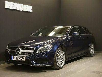 begagnad Mercedes CLS350 Shooting Brake d 4M 350d 4MATIC AMG Värmare Apple Carplay Drag Navi