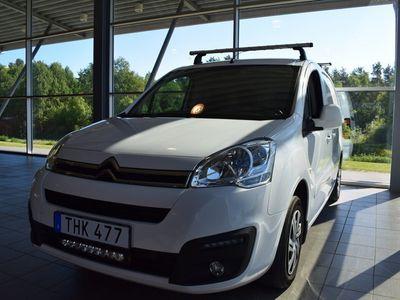 begagnad Citroën Berlingo Van 1.6 BlueHDi Manuell, 2016 2016, Transportbil 79 000 kr