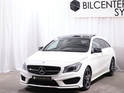 begagnad Mercedes CLA220 Shooting Brake d AMG/Nightpackage