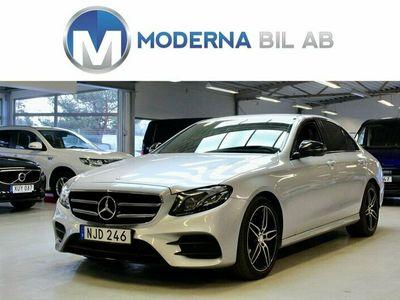 begagnad Mercedes E220 EU6 AMG 194HK 360° NAVI