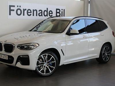 gebraucht BMW X3 xDrive 30d M-Sport Aut Navi Dragkrok