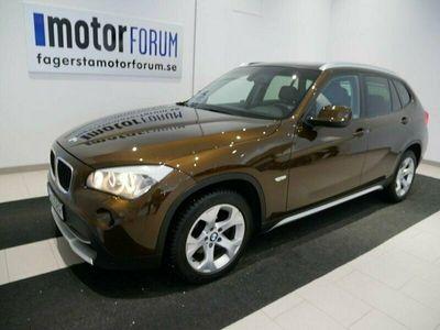 begagnad BMW X1 sDrive18d 142hk Aut M&K uttag Drag