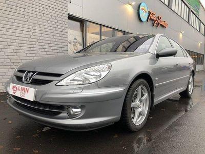 begagnad Peugeot 607 NYBESIKT 9100 MIL SKINN XENON PDC