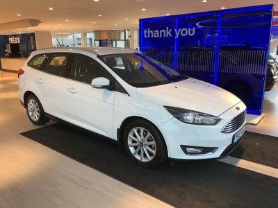 begagnad Ford Focus Kombi 1.0T (125hp) EcoBoost Titanium