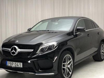 begagnad Mercedes GLE350 d 4MATIC Coupé C292 2017, SUV 500 000 kr