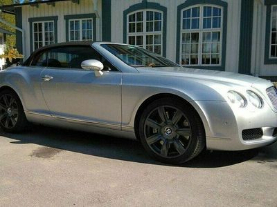 begagnad Bentley Continental GTC