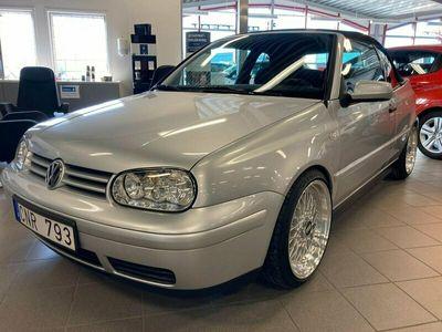 begagnad VW Golf Cabriolet 2.0 Sport 115hk
