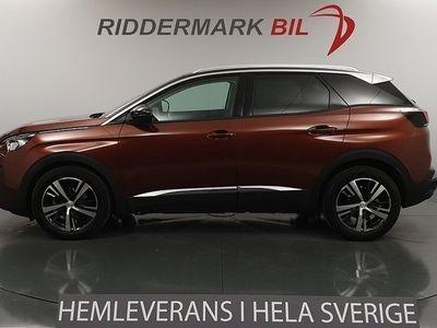 begagnad Peugeot 3008 1.2 Nyservad Panorama Eu6 130hk