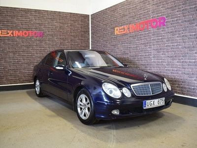 begagnad Mercedes E200 Kompressor 163hk Ny Besiktad
