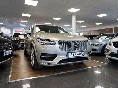 begagnad Volvo XC90 D5 AWD Geartronic Inscription Euro 6 7-sits 225hk
