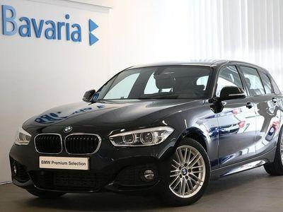 begagnad BMW 118 i 5-d M Sport PDC Sportstolar Nypris
