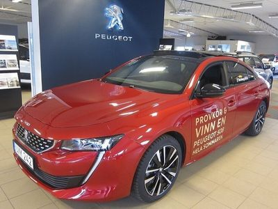 begagnad Peugeot 508 GT 1.6 PureTech EAT 8 Euro 6 225hk Premium Business